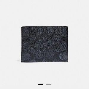 Coach men wallet in Black